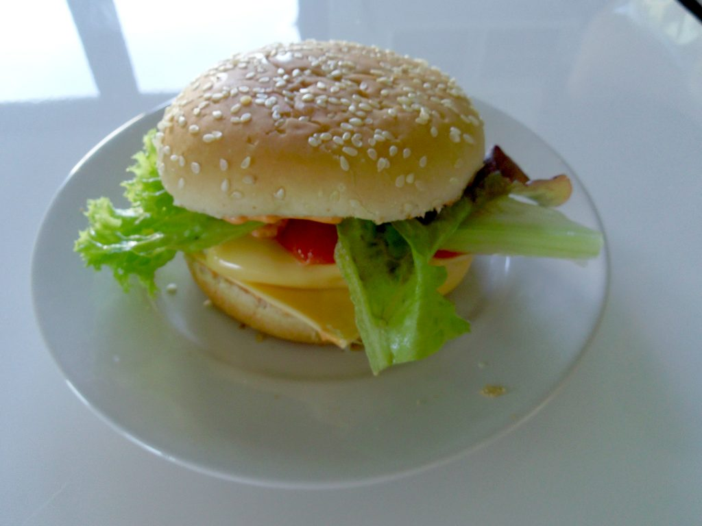 domowy hamburger