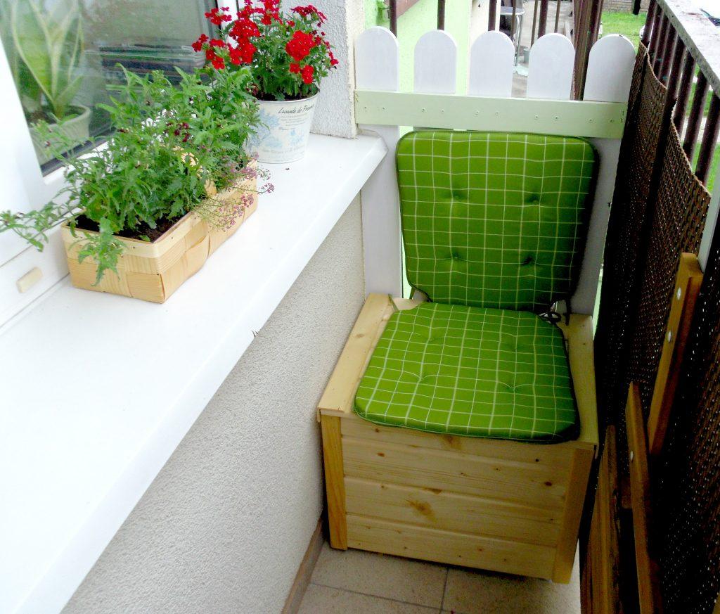 Skrzynia siedzisko