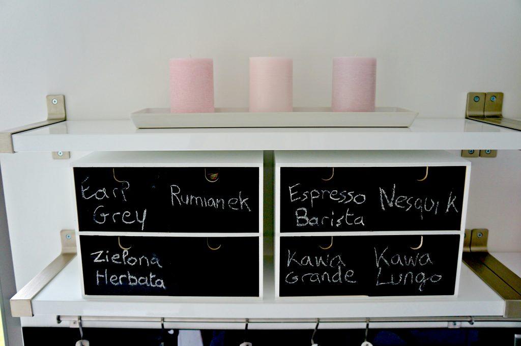 Różowe świeczki z Ikei