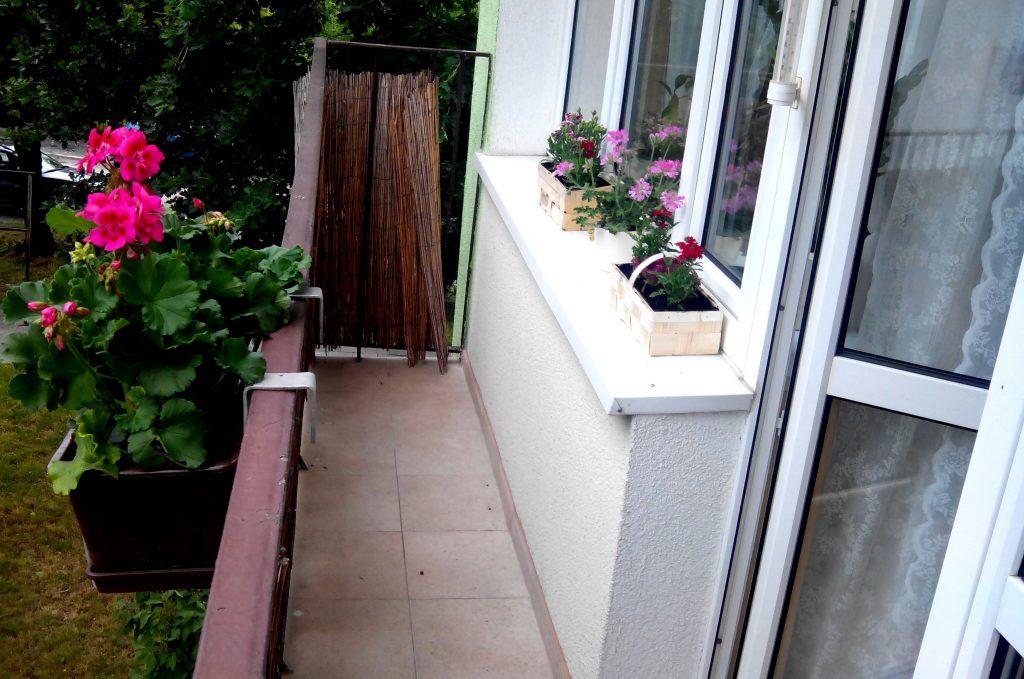 Balkon przed metamorfozą