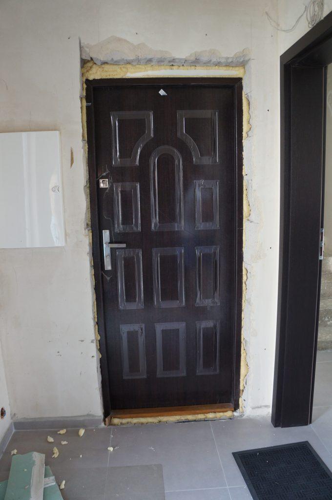 obróbka drzwi