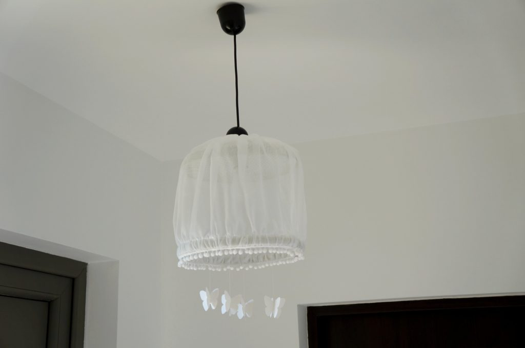 Lampa DIY