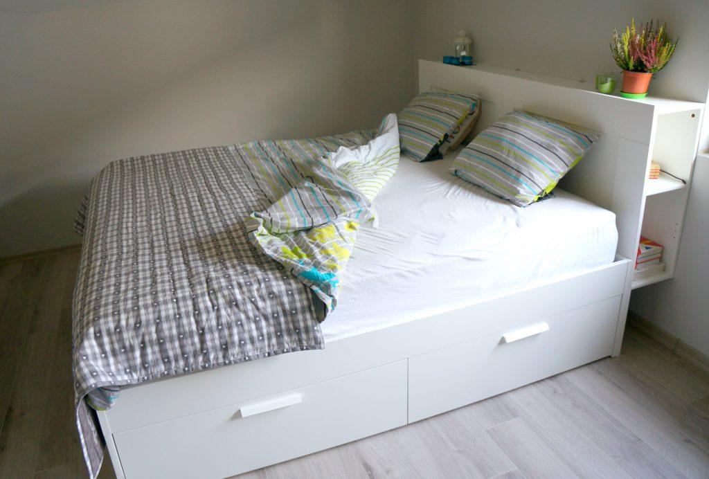 �243żko brimnes ikea � nasza sypialnia projekt dom