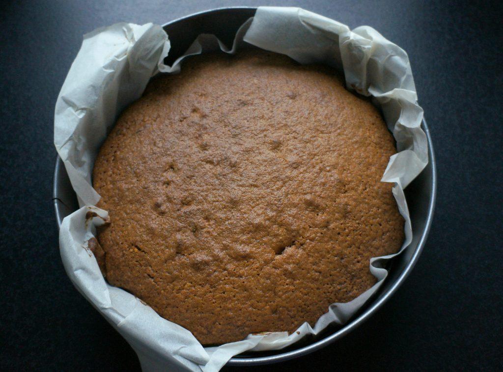 ciasto po upieczeniu