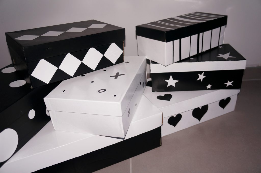 ozdobne pudełka DIY