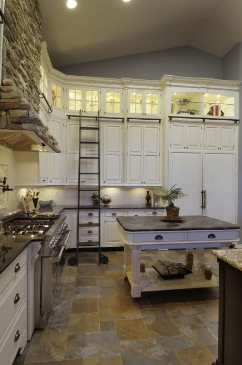 drabina w kuchni