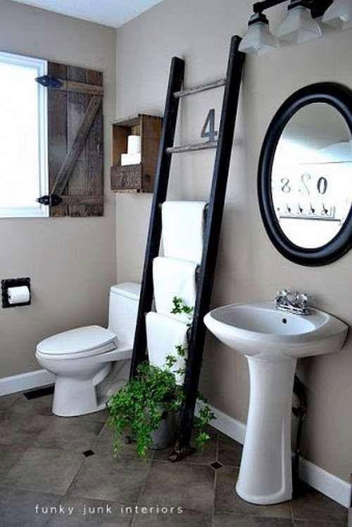 drabina w łaziece
