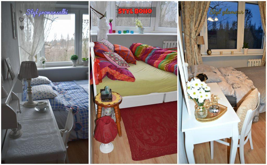 mała sypialnia w 3 odsłonach