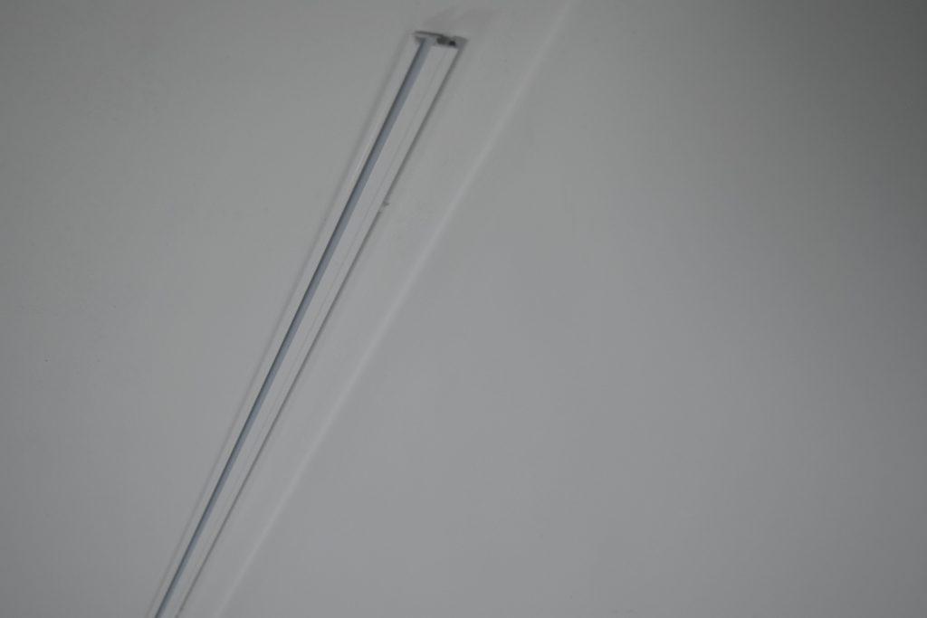 karnisz aluminiowy jednotorowy
