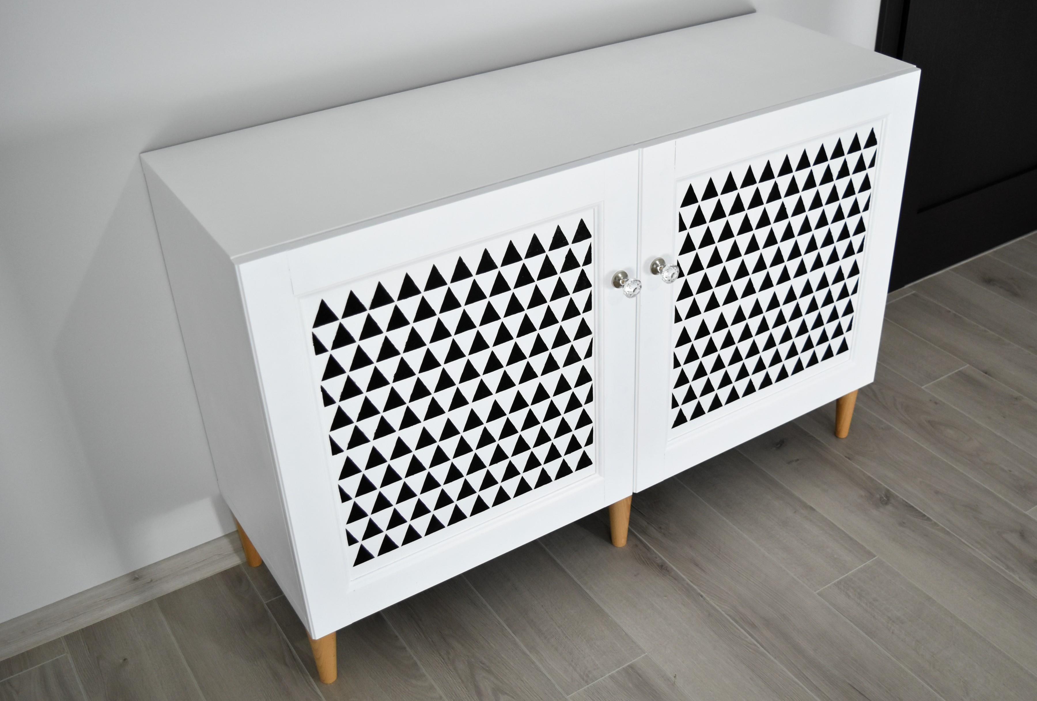 Malowanie szafki z MDF Besta Ikea metamorfoza Projekt Dom