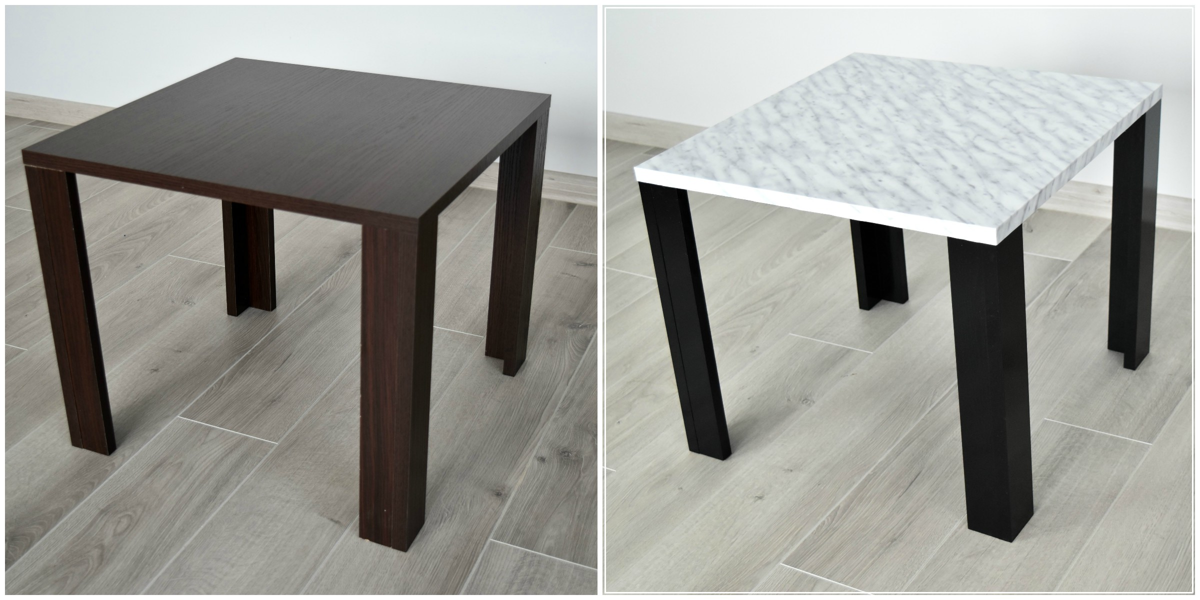 table basse en marbre DIY