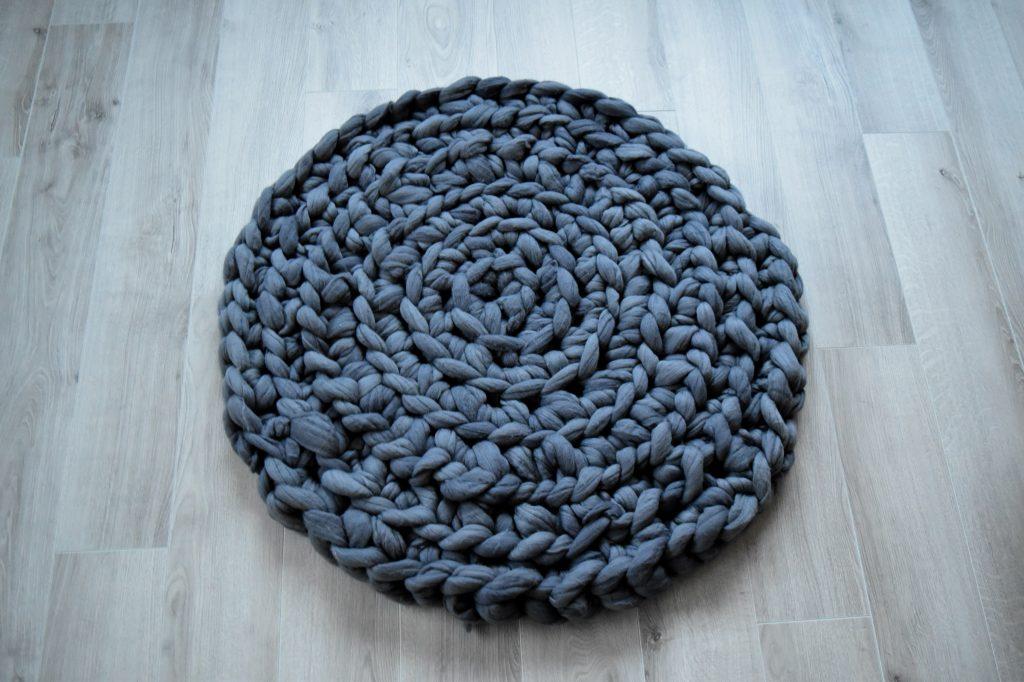 dywan z wełny czesankowej