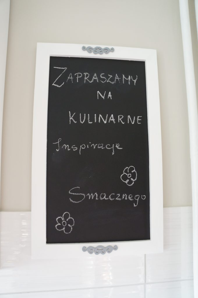 tablica w kuchni