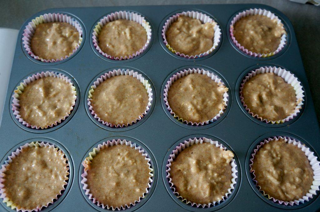 muffiny w foremkach