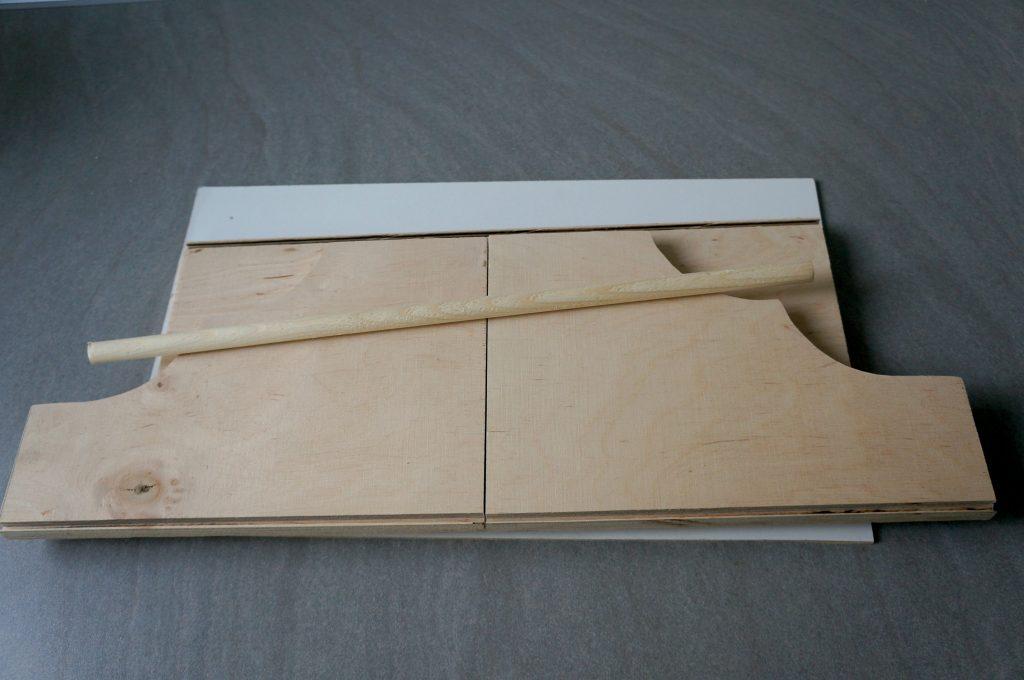 wykonanie półki na zioła