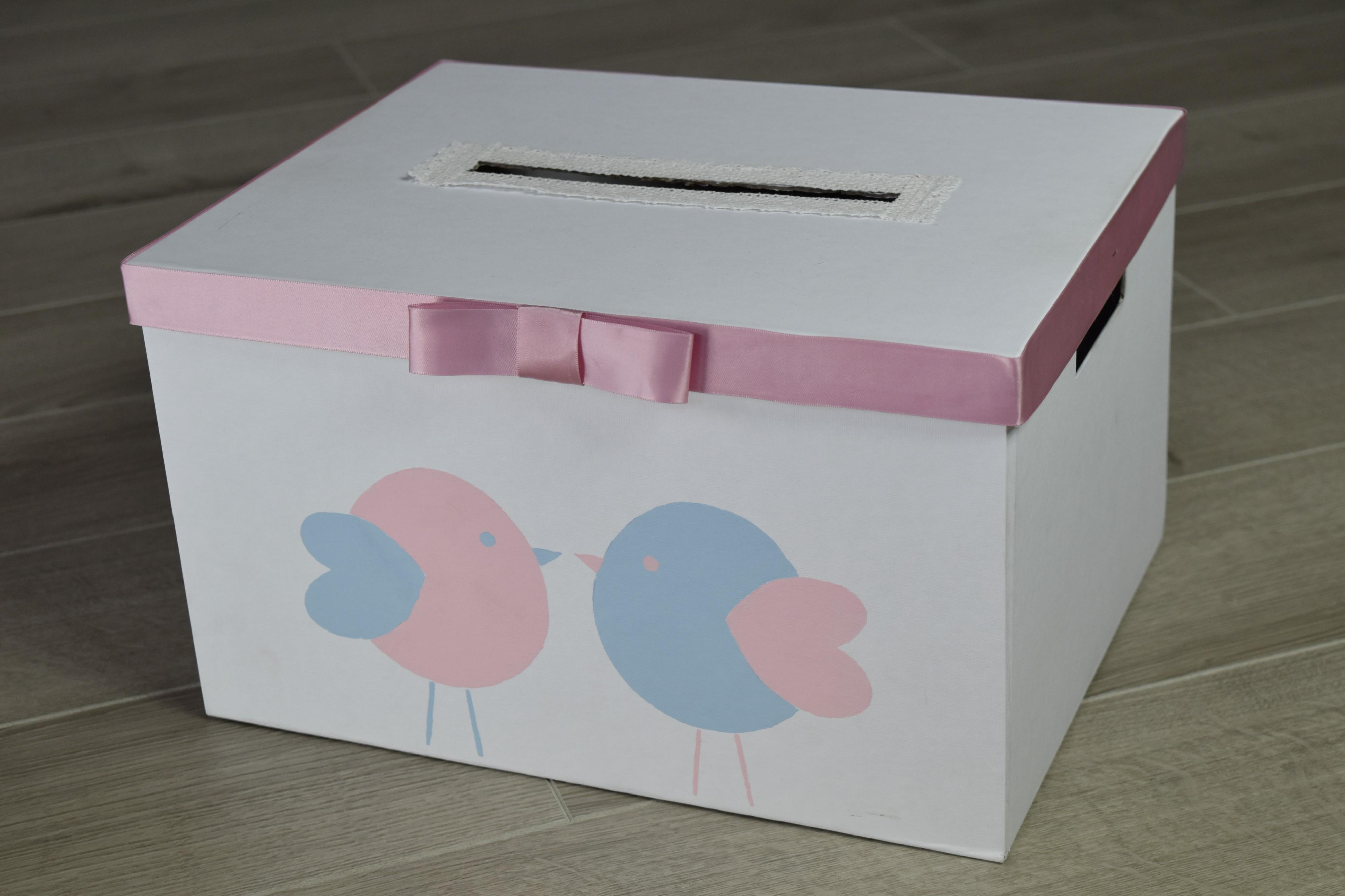 Pudełko na koperty DIY
