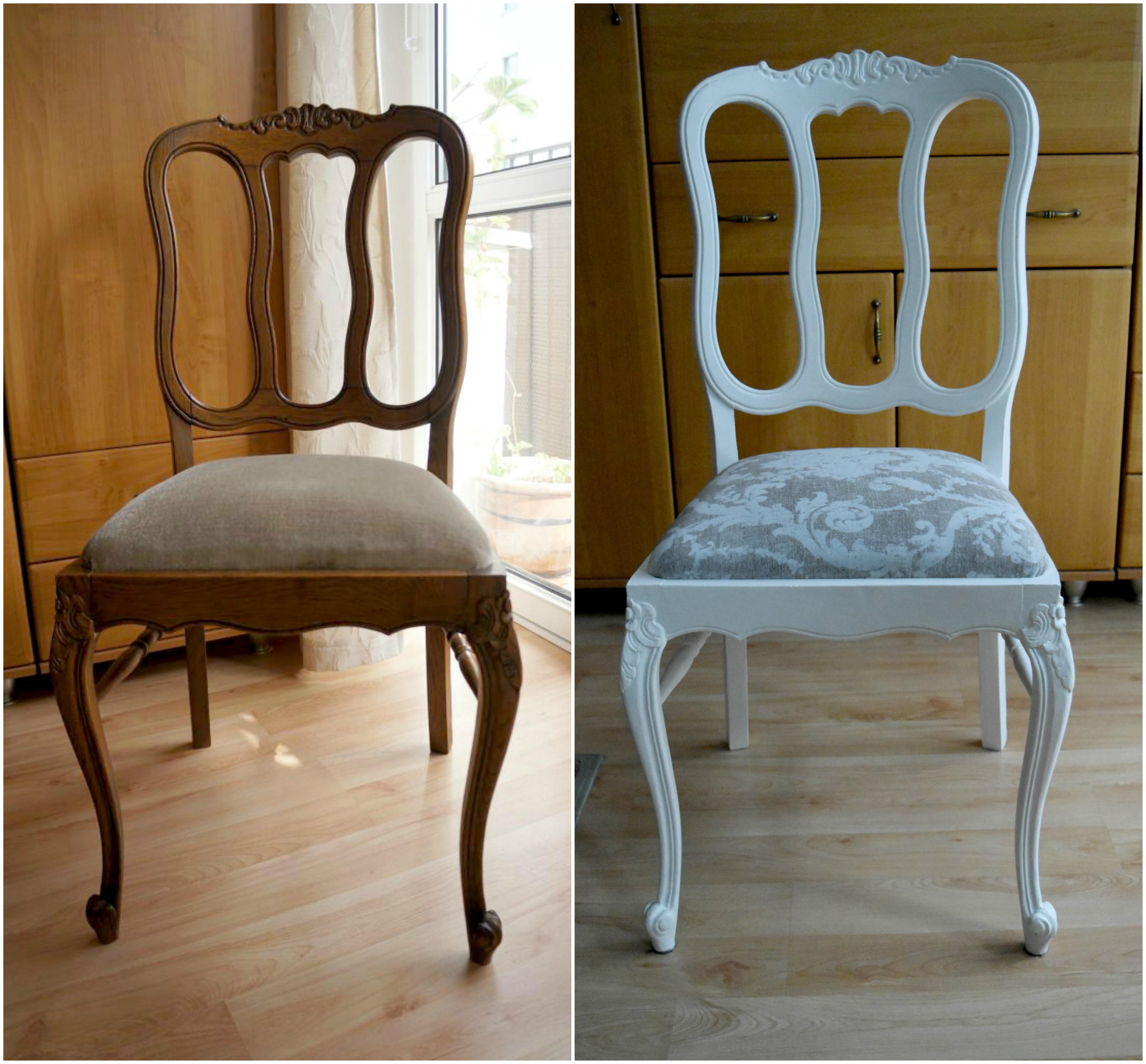 Metamorfoza krzesła Ludwik