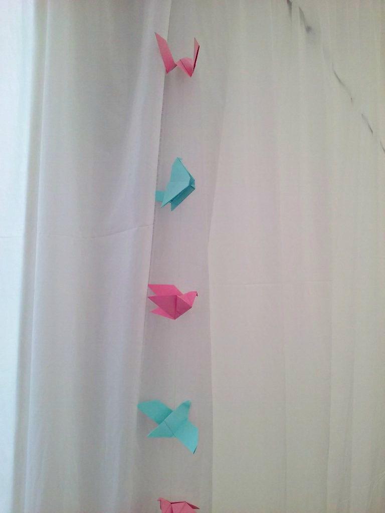 ptaszki z origami