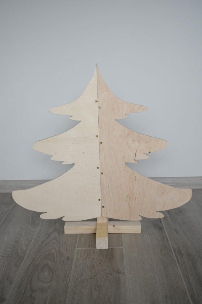 choinka drewniana