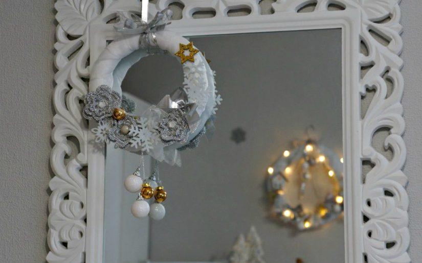 jak zrobić wianek bożonarodzeniowy w 10 min?