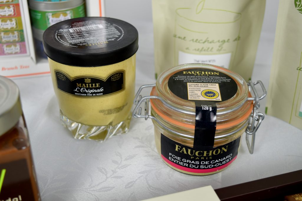foie gras i musztarda Maille