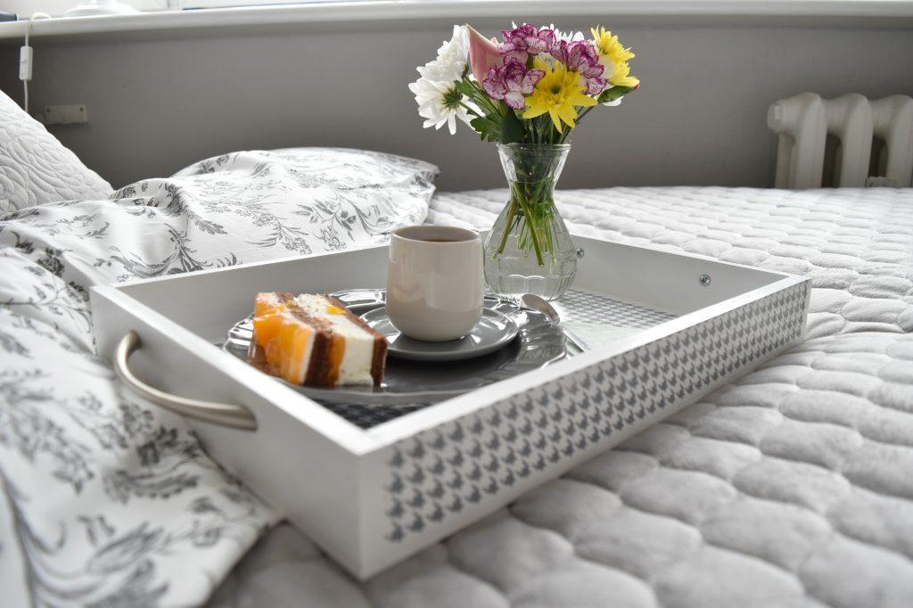 taca śniadaniowa DIY