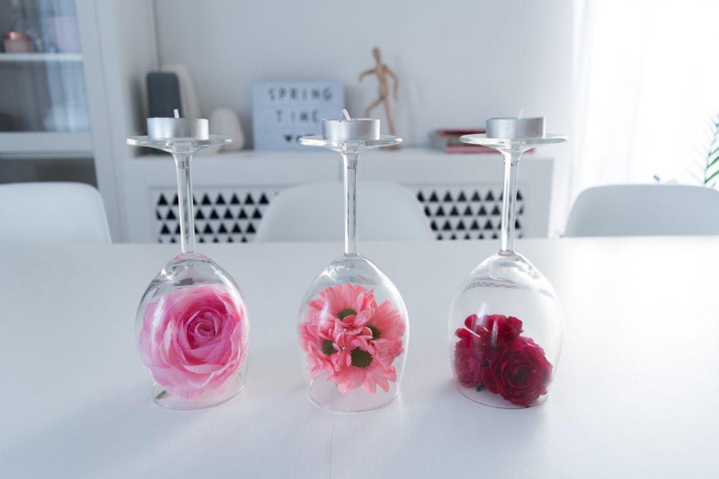 dekoracje kwiatowe DIY