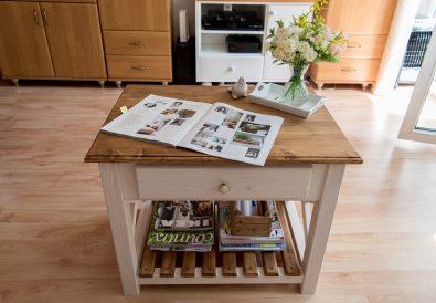 stolik kawowy DIY