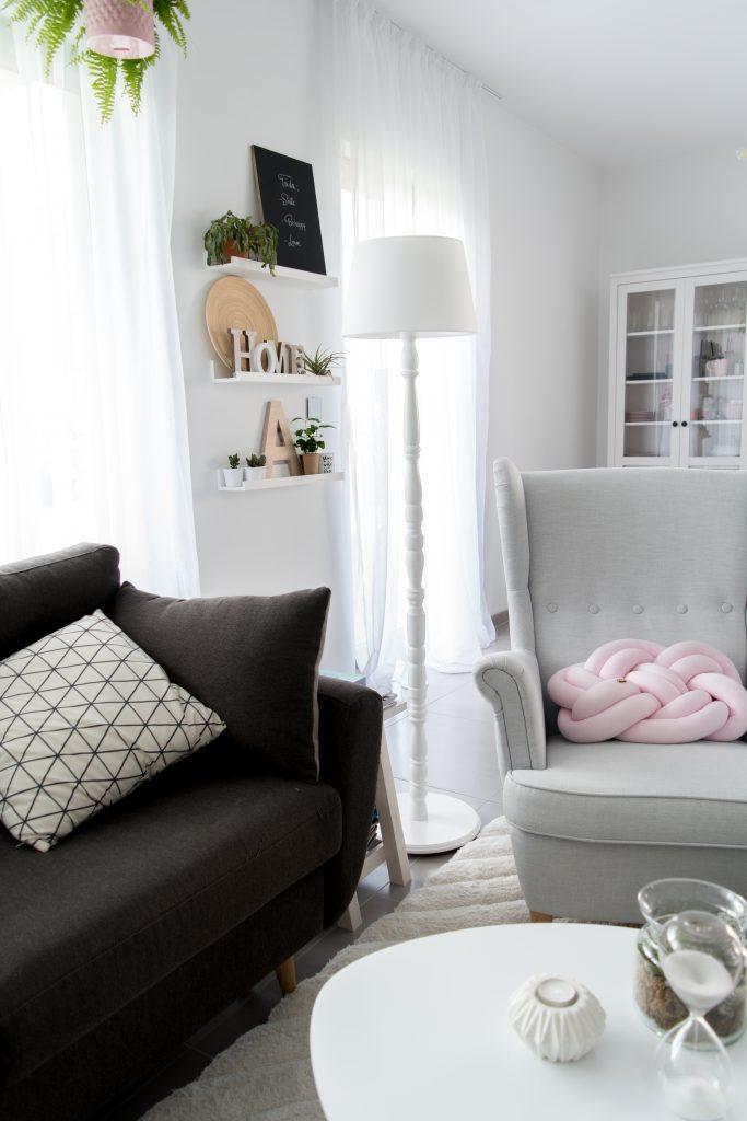 lampa ze śmietnika