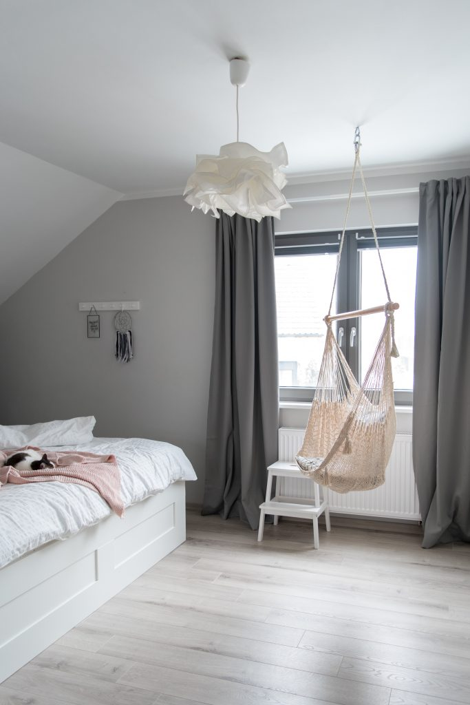 sypialnia scandi