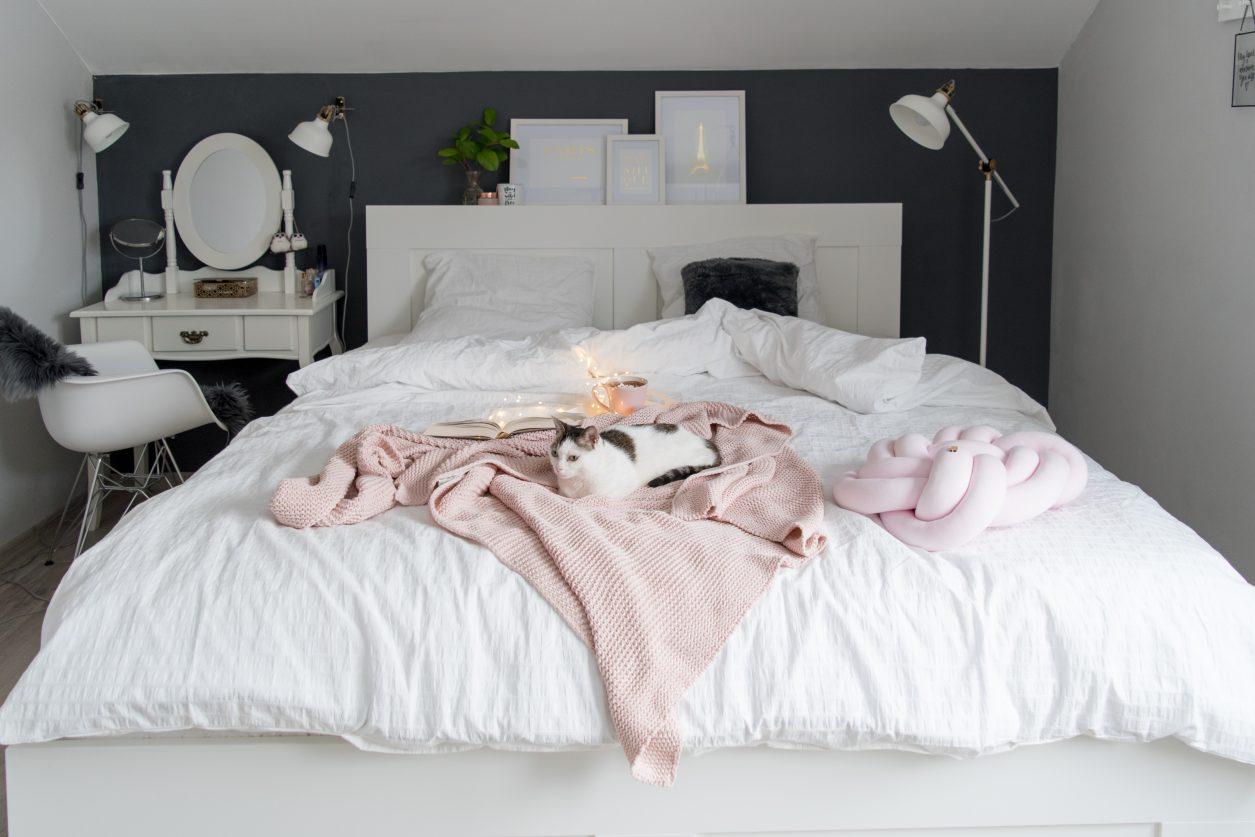 Nasza Biała Sypialnia Metamorfoza Projekt Dom